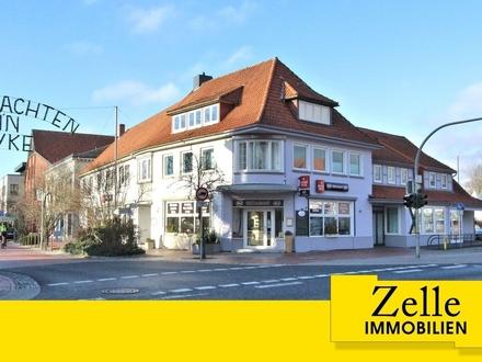 Traditionsreiches Gewerbegebäude - solide und gut vermietet - mitten in Syke