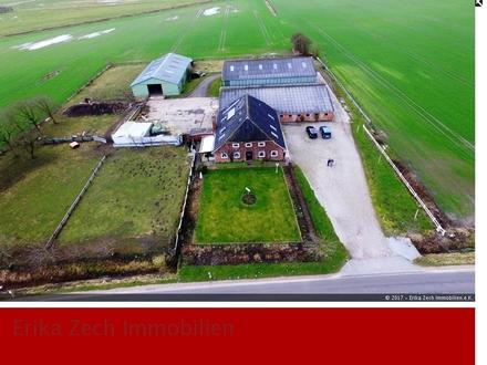 Großzügiger Bauernhof mitten in der Natur von 25923 Niebüll, OT Holm