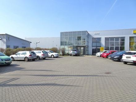 Gewerbeanwesen in Worms! Derzeit Autohaus und Verlagshaus.