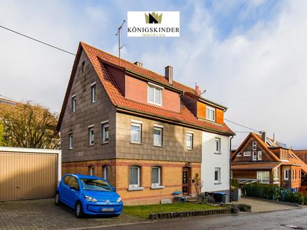 Rustikale Doppelhaushälfte für 1-2 Familien mit großem Garten in Wannweil zu verkaufen