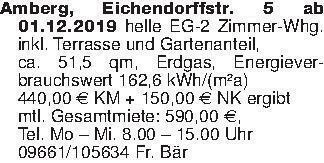 Amberg, Eichendorffstr. 5 ab 0...