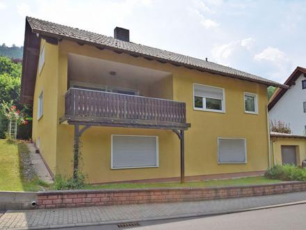 Freistehendes Einfamilienhaus in Weilbach-Weckbach