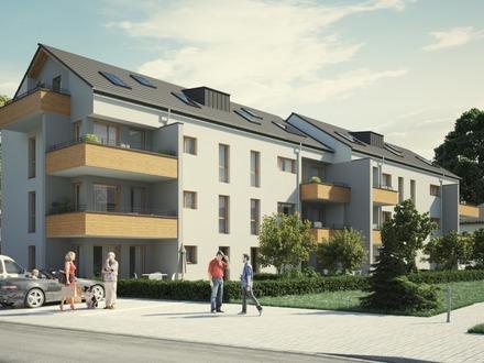 Moderne Eigentumswohnung im Neubau: Drei Zimmer im 2. OG