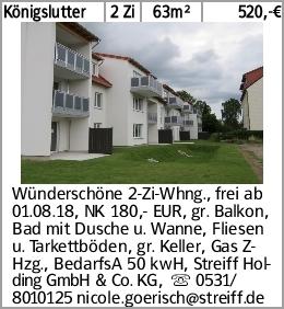 Wünderschöne 2-Zi-Whng.