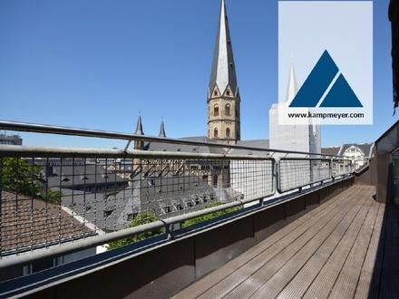Über den Dächern von Bonn