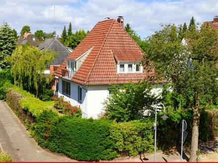 Einfamilienhaus mit Charme in gefragter Wohnlage von Bremen-Schwachhausen