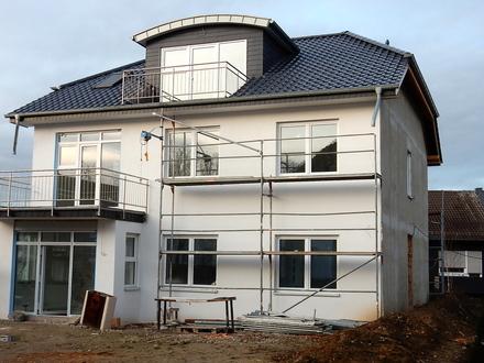 Traumhaft schöne Neubauwohnung in zentraler Stadtlage von Bad Oeynhausen mit großem Südbalkon