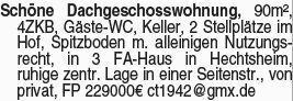 Eigentumswohnung in Hechtsheim
