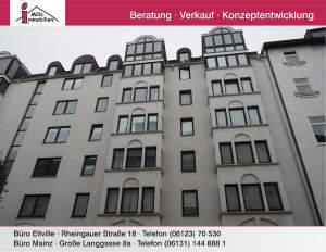 Top geschnittene 2-Zimmer-Wohnung mit Aufzug