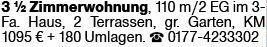 3-Zimmer Mietwohnung in Hochheim (65239)