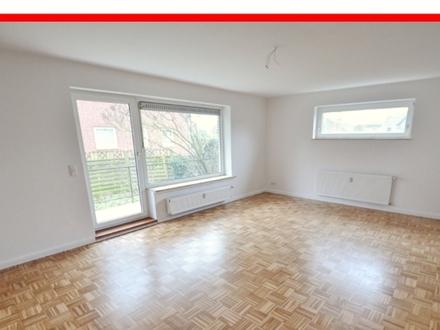 WEYHE - große 3 ZIMMER-WHG mit BALKON u. EINZELGARAGE, Küche, Vollbad mit Fenster sowie sep. WC