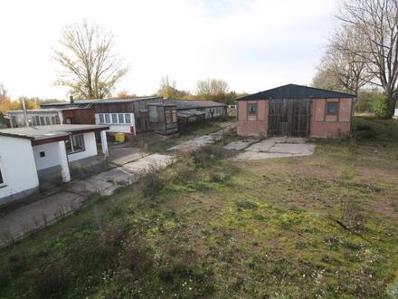 Über 20.000 m² großes Grundstück mit zwei Lagerhallen, Bürocontainer und zusätzlichem Wohnraum in Morl/Beidersee zu verkaufen!!!