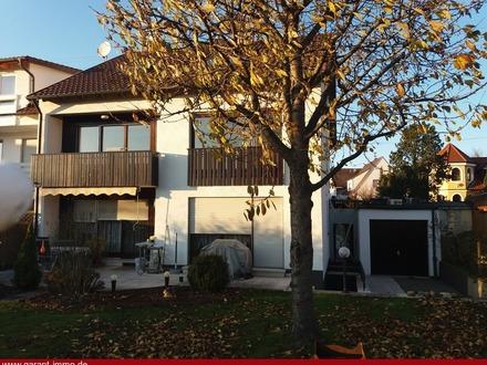 Erstbezug nach Sanierung einer Wohnung mit Süd-Balkon am Ortsrand von Diedorf
