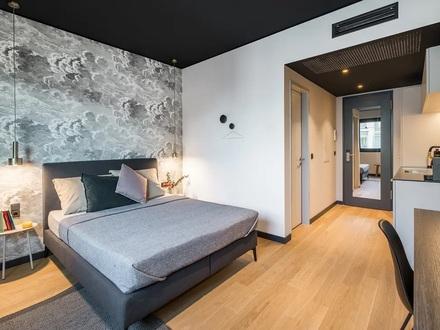 Möbliertes Apartment mit Terrasse