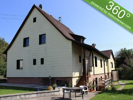 Hier läßt sich´s gut leben! Solides 2-Familienhaus in Täfertingen!