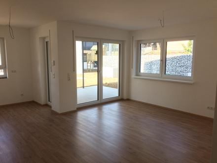 Sonnige Neubau-3-Zimmer-Wohnungen mit Terrasse und Garten, TG-Stellplatz in Metten * nur noch 2 Gartenwohnungen verfügbar*