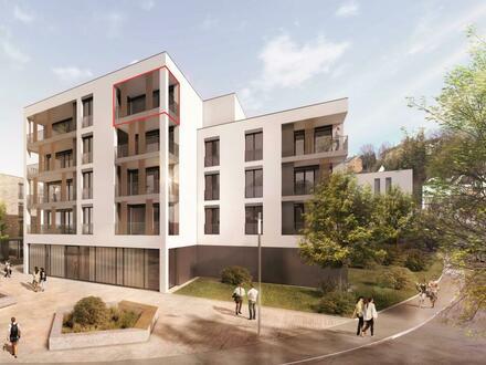 2-Zimmer-Penthouse mit Balkon und Dachterrasse **NEUBAU**