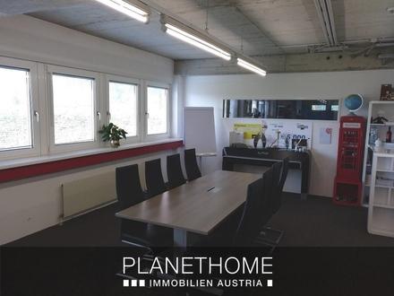 Praxistaugliches Büro (180 m²), Einzelbüros (ab 27 m²), Lager (ab 130 m²) zu vermieten