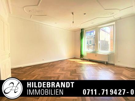 Mitten in der City: Traumhafte, renovierte 5-Zimmer-Altbauwohnung mit Wintergarten!