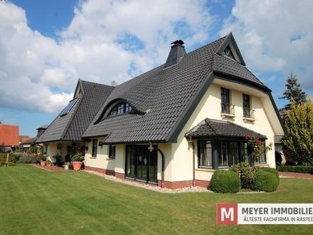 Repräsentatives Wohnhaus mit vielen Extras im Ortskern von Rastede (Obj.-Nr. 5581)