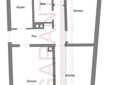RARITÄT- zentrale Wohnung mit Einzelgarage