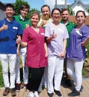 Unser Azubiteam in der Fachpflegeausbildung