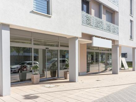 Kapitalanleger aufgepasst - vermietetes Gewerbe am Rheinufer Süd - 5% Rendite!