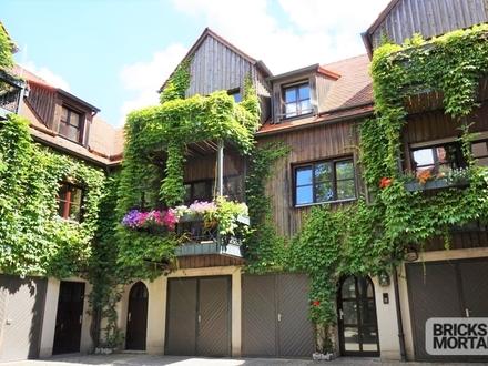 Ruhige Wohnlage im Zentrum von Augsburg! 3-Zi-Maisonette mit Balkon! - 360° Rundgang auf Wunsch!!