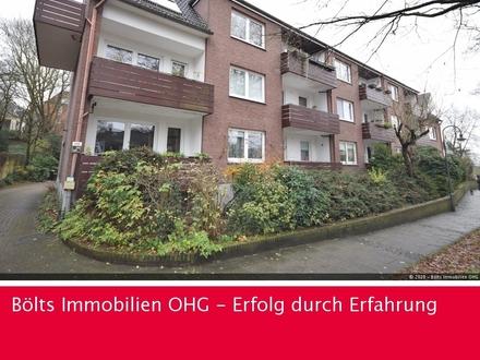 Einzel-Besichtigungstermine ! Helle 2-Zimmer-Wohnung mit Balkon Nähe Lesumer Kirche