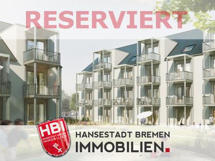 Hastedt / Neubau - Exklusive 1-Zimmer-Wohnung mit Balkon