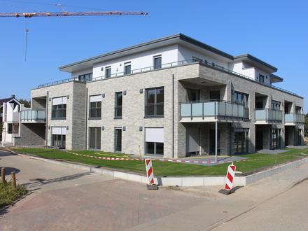 Wie für Dich gemacht! Neubau Erdgeschoss-Wohnung am Heimathaus mit Fahrstuhl u. Tiefgarage in Lingen