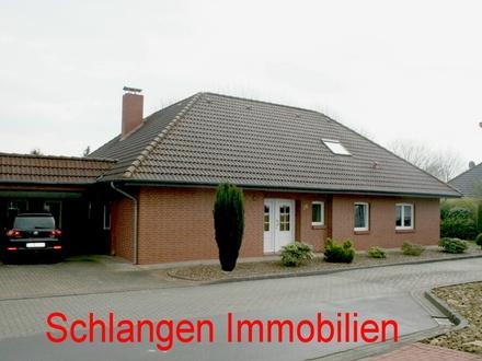 Objekt Nr.: 17/616 Winkelbungalow mit Wintergarten und Carport im Feriengebiet Saterland / OT Sedelsberg