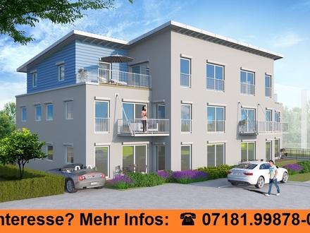 Moderne Passivhaus-Wohnung mit Garten und Südterrasse, Aufzug und Tiefgarage, S-Bahn-Haltestelle nur wenige Gehminuten entfernt,...