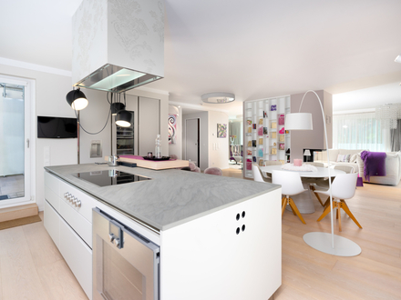 """Elegantes und großzügiges Designerpenthouse, mit dem Prädikat """"WERTVOLL"""""""
