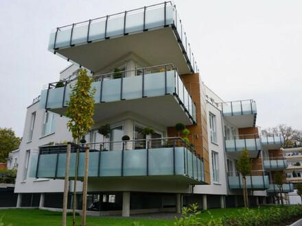 ARNOLD-IMMOBILIEN: Hochwertige Wohnung mit Mainblick - barrierefrei