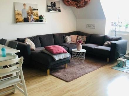 3 ZKB ca. 68 m² 15.07. 670,- 90,- inkl. helle, ren. 3 ZiKB DG-Wohnung mit...