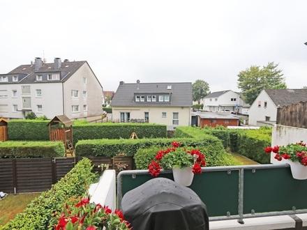 Do.-Sölde: Modern aufgeteilte Wohnung mit Balkon und Tiefgaragenstellplatz