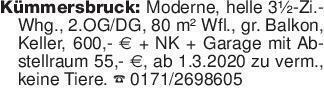 Kümmersbruck: Moderne, helle 3...