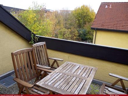 Dachgeschoss-Terrassen-Wohnung - Über den Dächern der Stadt