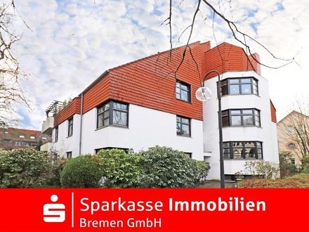 Schöne, moderne Maisonettewohnung in grüner und zentraler Lage von Bremen-Horn-Lehe