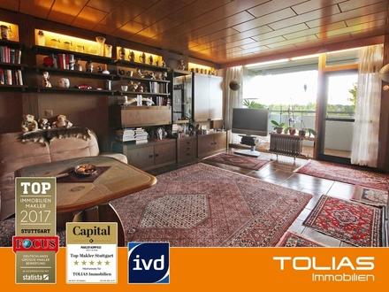 Wohnung sucht Kapitalanleger - 3,5-Zimmer-Wohnung im Hochhaus mit 2 Balkonen, Garage