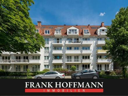 Geräumige Erdgeschoss-Wohnung in beliebter Wohnanlage von HH-Bahrenfeld