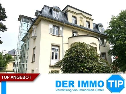 Exklusive Büroetage + Villa am Weißen Hirsch in Dresden zur MIETE