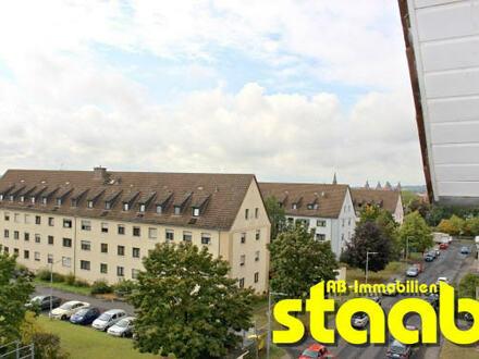 GERÄUMIGE 2-ZIMMERWOHNUNG MIT BALKON IN RUHIGER STADTRANDLAGE!