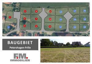 Neue Baugrundstücke in Petershagen-Frille - 2. Bauabschnitt