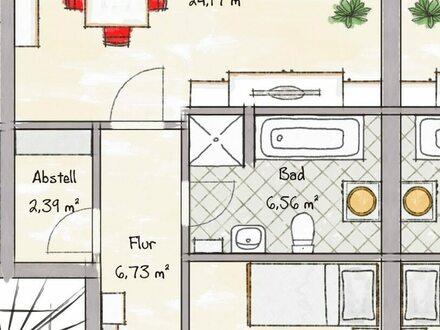 NEUBAU ! 3 Zimmer im Erdgeschoss