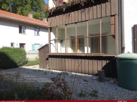 2 Zimmer-Wohnung mit Gartenanteil in TOP- Lage von Miesbach