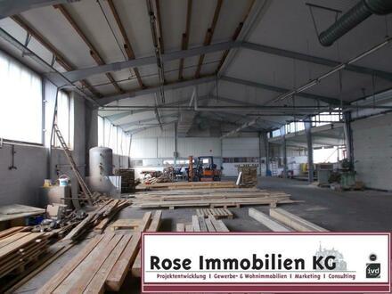 ROSE IMMOBILIEN KG: Lager -/Produktion mit Büro und Sozialflächen im Industriegebiet!