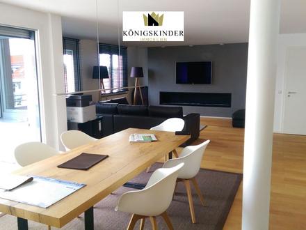 Moderne Penthouse-Wohnung in Aussichtslage von Waiblingen ab 01.09.2018 zu vermieten!