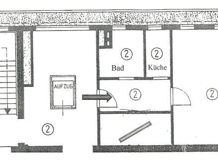 1-Zimmer-Appartement / Büro-/Praxisraum im Zentrum von Immenstadt